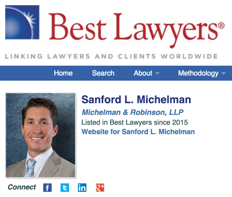 Best Lawyers Sanford Michelman
